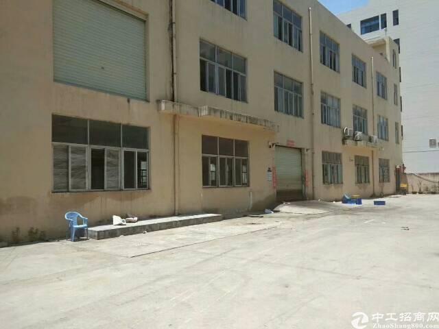 福永107国道旁独门独院3900平米带装修厂房出租