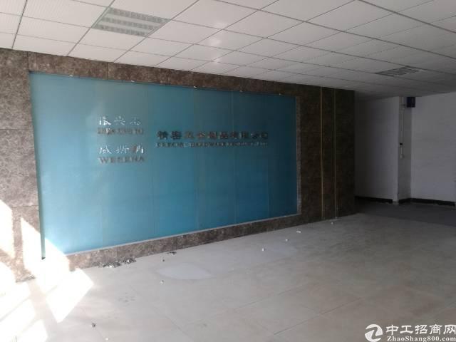 沙井新桥三工业区楼上1000平厂房出租