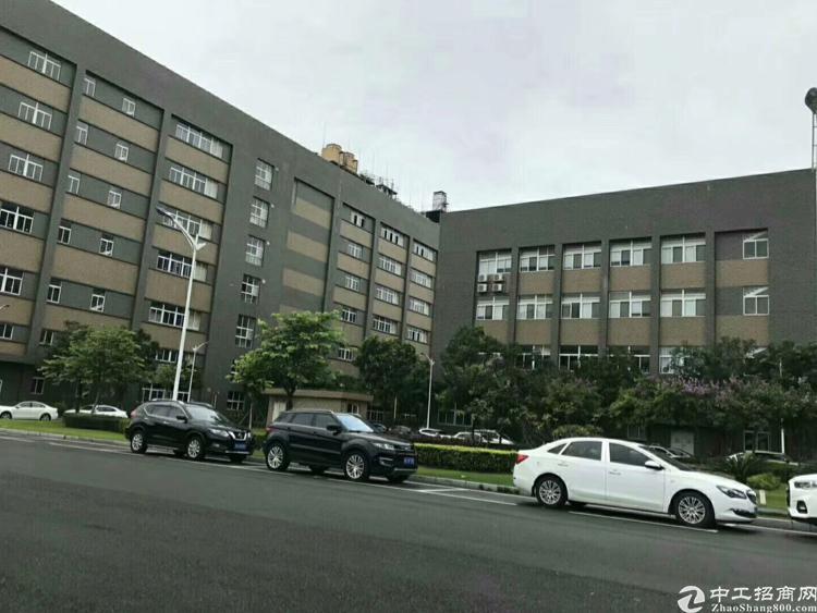 光明新区高新科技园楼上新出2800平带装修厂房