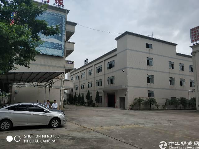 横岗六约新出独院厂房1-4层5200平,宿舍按需
