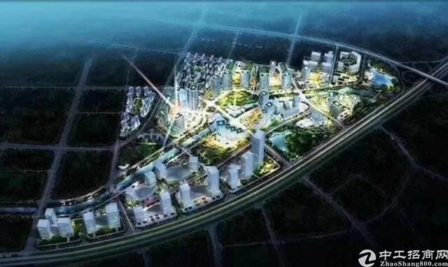 湖北武汉智能产业园地皮,带红本,政府政策好