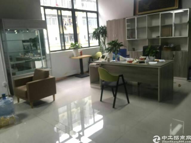 西乡银田工业区办公场地1800平方带家私出租