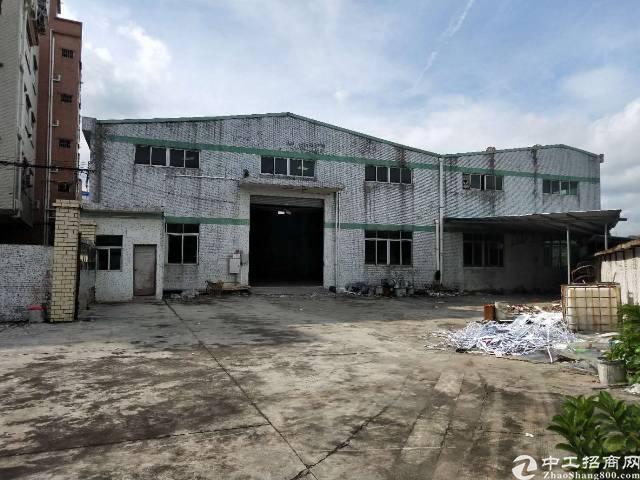 黄江镇新出独院钢构厂房2700平米招商