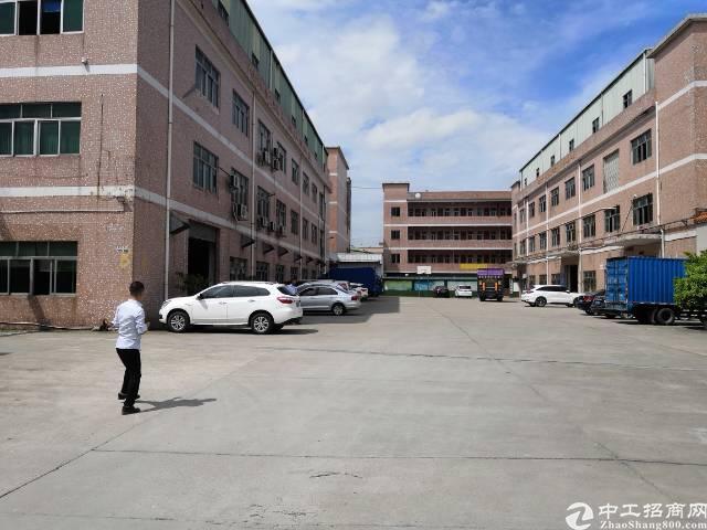 企石成熟工业区一楼厂房招租可办环评