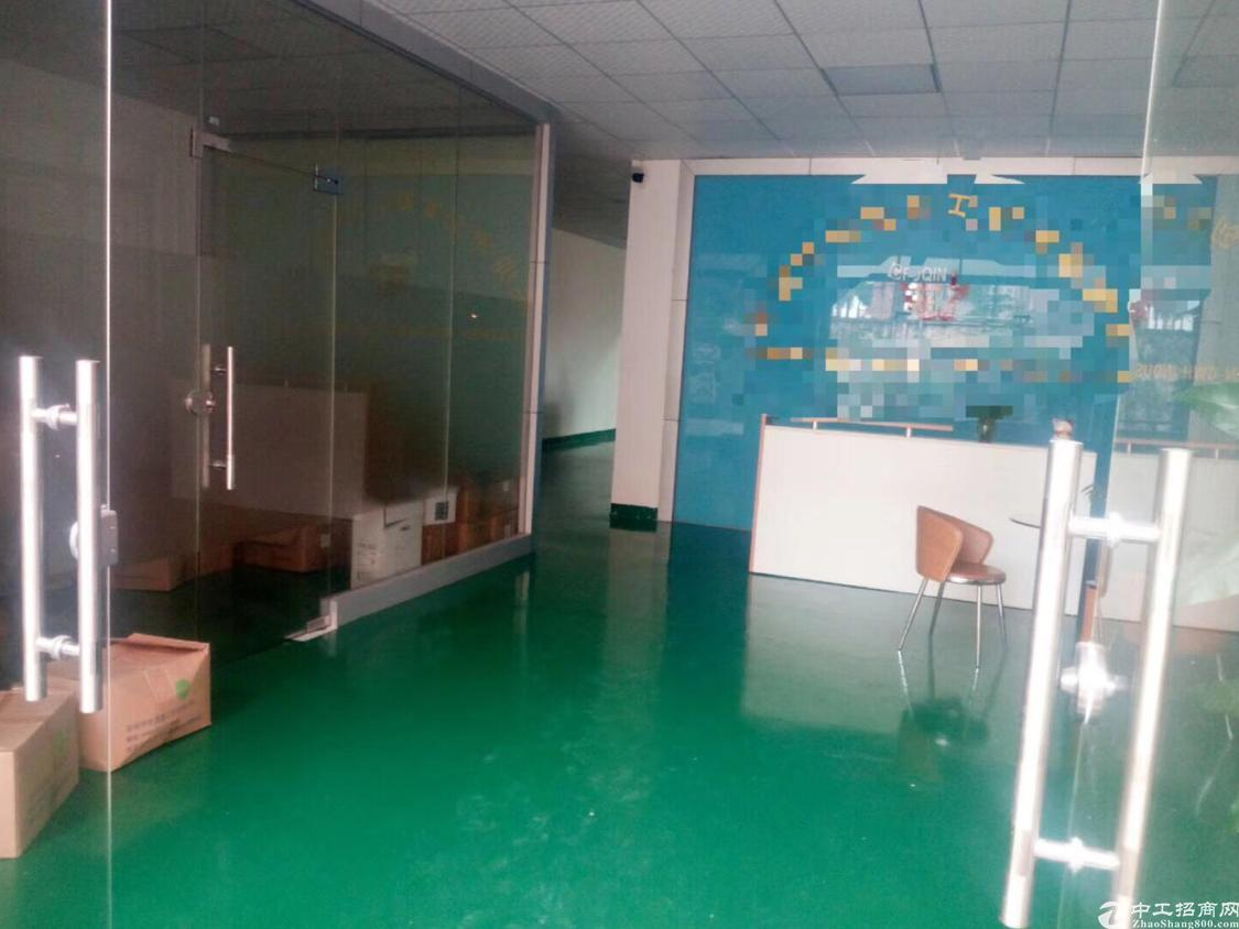 福永塘尾大型工业区新出厂房一楼1200平米带装修免转让费出租