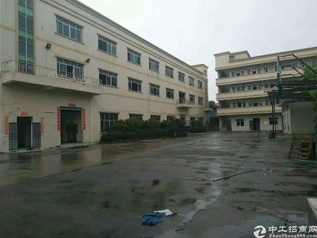 松岗燕川原房东红本厂房,1-3层5500平米。