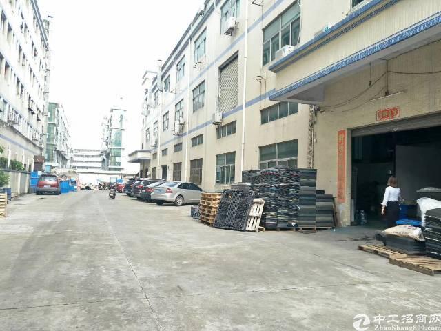 福永和平独门独院厂6600平米厂房招租3层每层面积是2200
