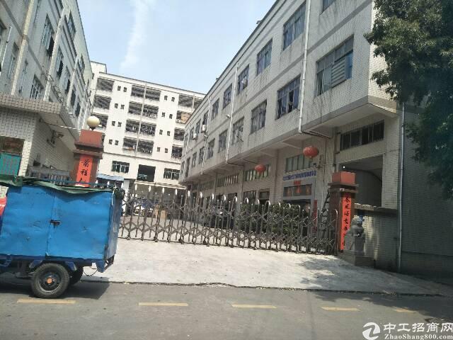福永和平1到3层6600平方米厂房出租