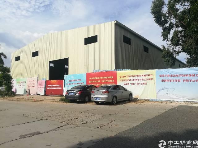 大朗镇全新独栋钢构厂出租