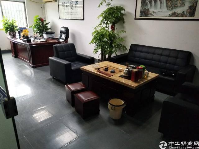龙岗五联原房东2楼1180平米带装修厂房出租
