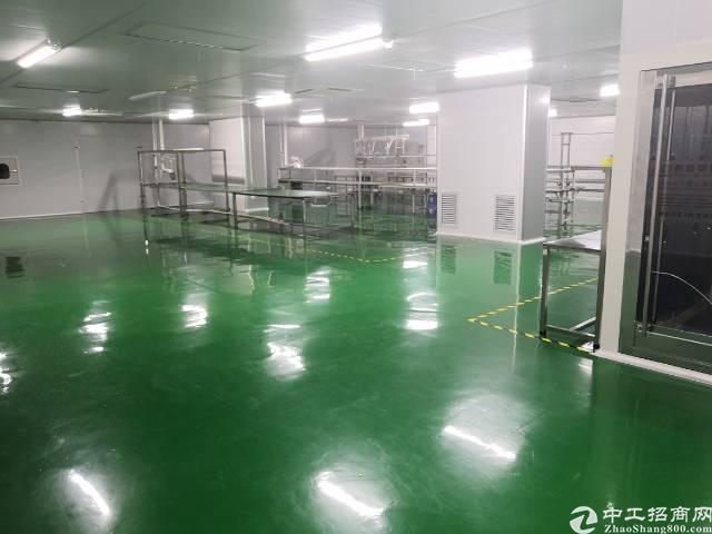 东莞虎门在成熟工业区新出万级无尘车间