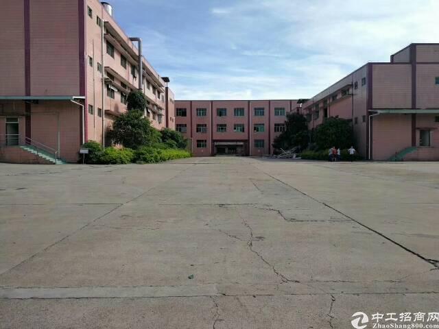 深圳周边东莞原房东独院厂房占地9亩出售中