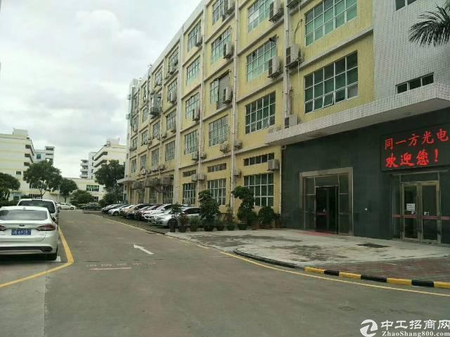 沙井街道沙一工业区大型工业园新出1栋1楼靠工业园门口那家面积