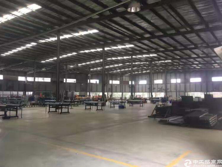 刚空置2200平米独院钢构厂房租18