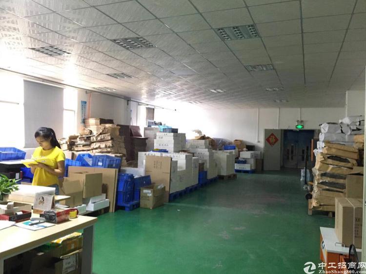 龙岗南联新出楼上精装修厂房800平方