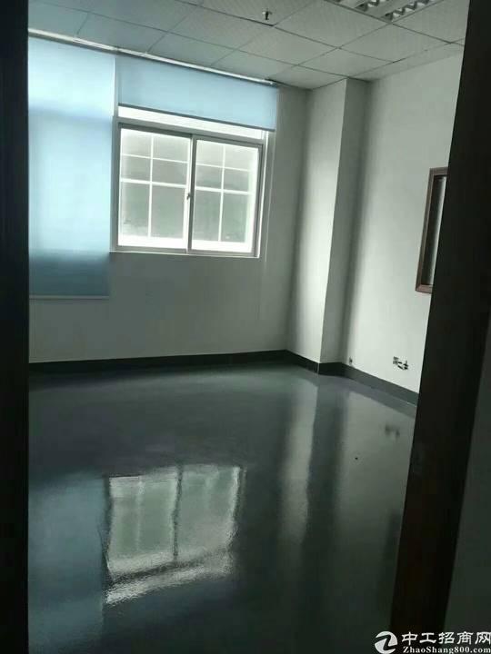 公明新出楼上厂房1450m²,带精装修
