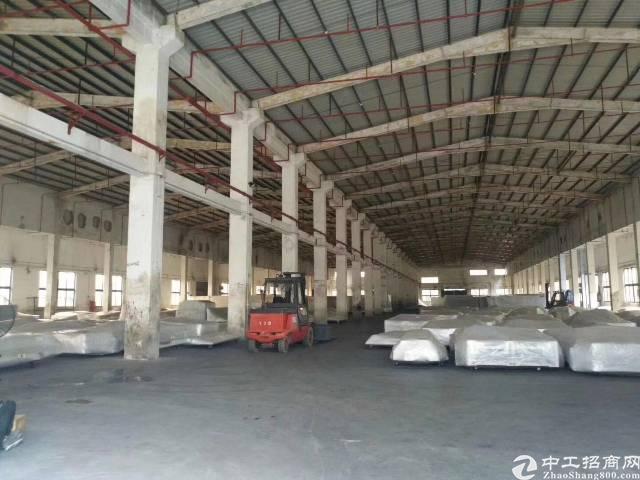 村委单一层独院钢构厂房4560平方出租