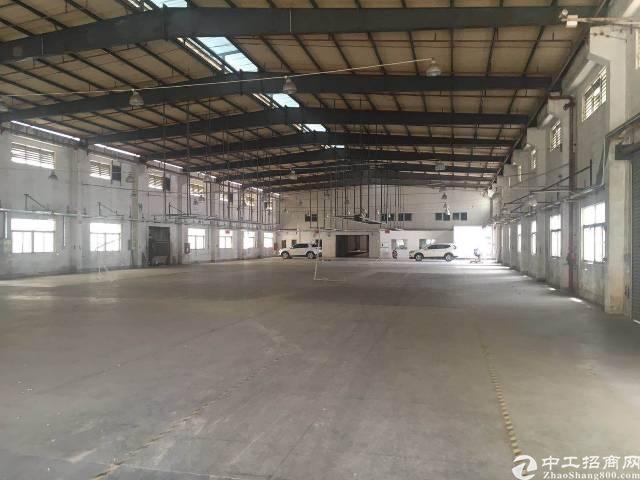 公明上村独院滴水9米钢构厂房1500平方出租-图4