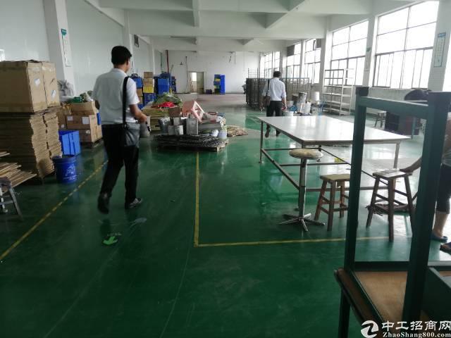 公明李松蓢楼上700平米精装修厂房出租