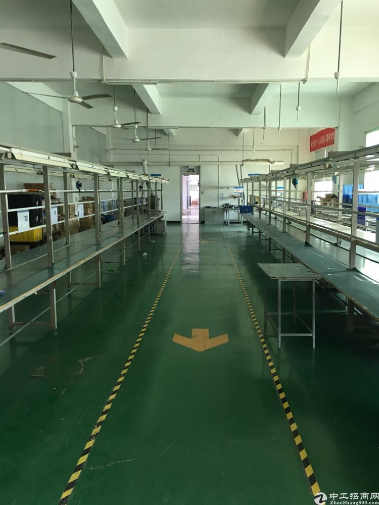 横岗地铁口原房东独院6000平米厂房出租