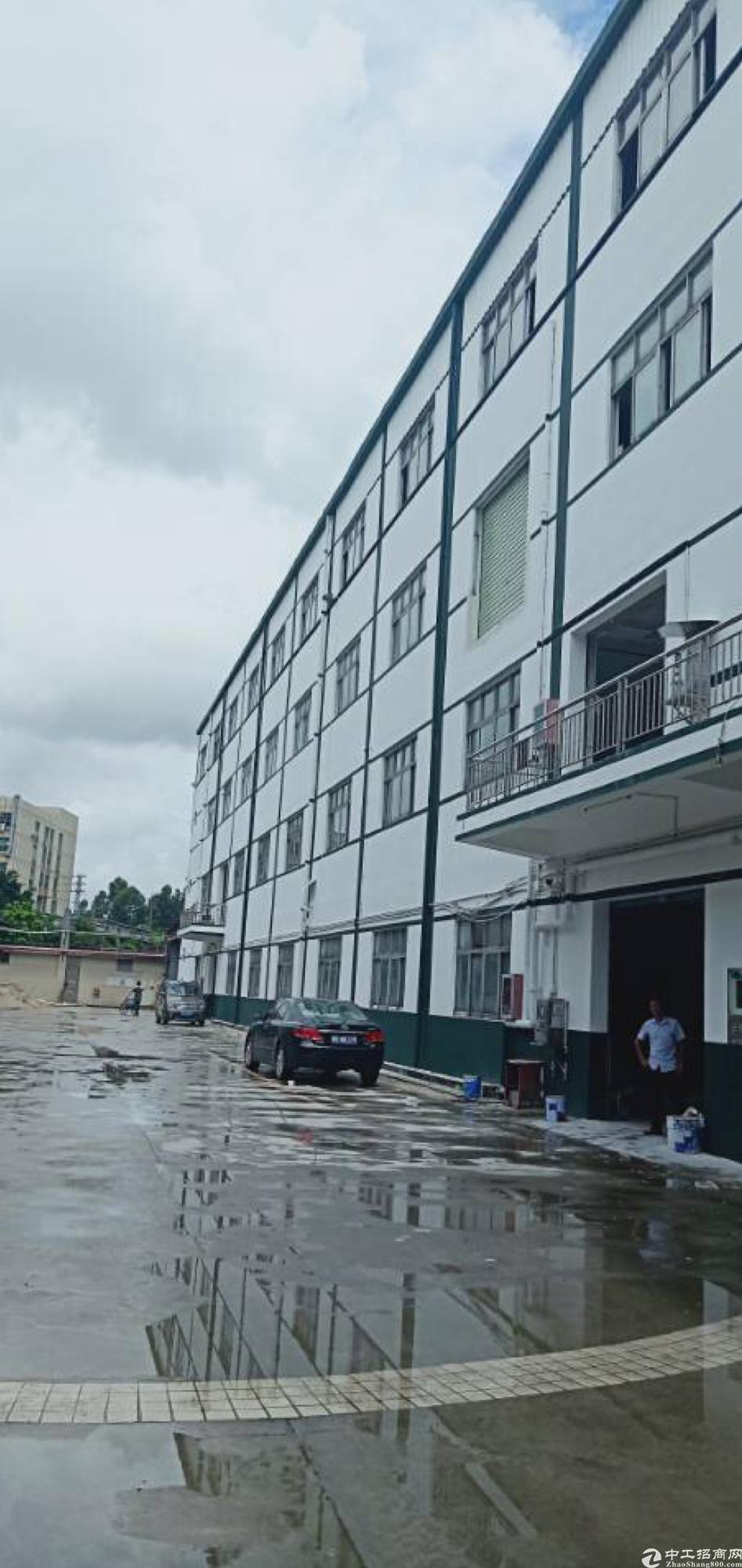 沙井主干道附近新出独门独院10000平米厂房出租