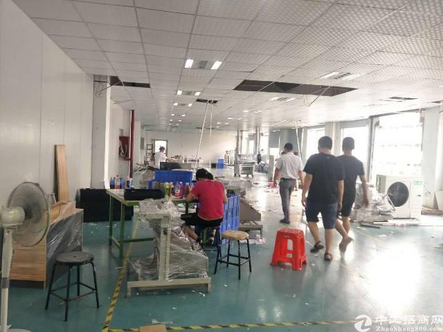 福永新塘工业区楼上750平方厂房出租
