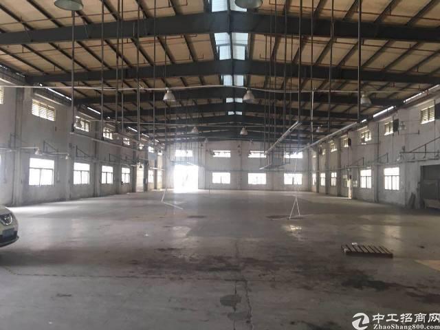 公明上村独院滴水9米钢构厂房1500平方出租