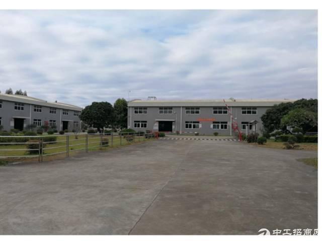 东莞石碣高速旁占地9.4亩村委合同独院厂房出售