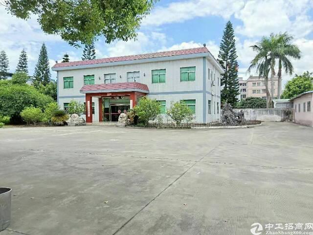 清溪镇靠塘厦新出花园式独院厂房7950平方出租,厂房形象好