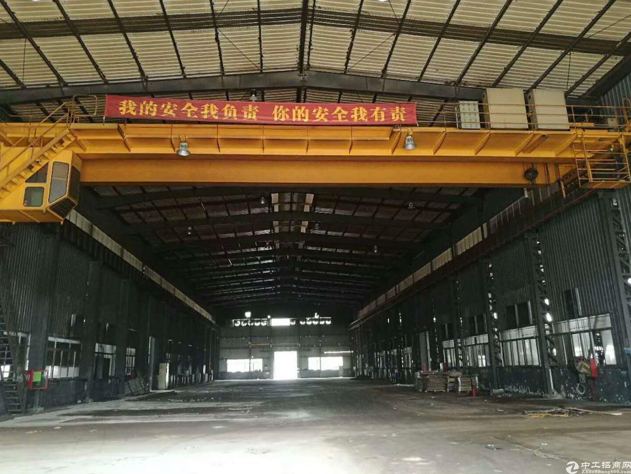 高12米重工业厂房自带3台行车,可以办理环评红本