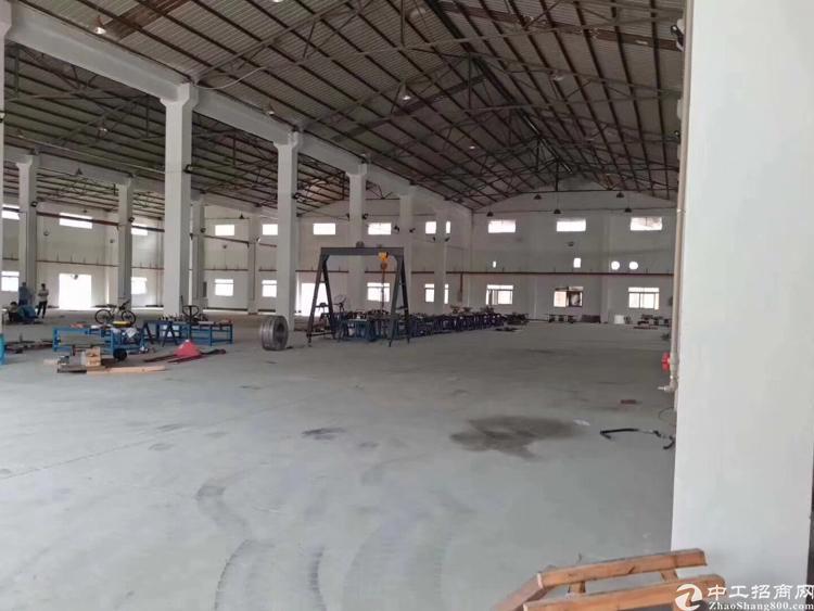 清溪镇荔横新空单一层钢构厂房5000平方招租