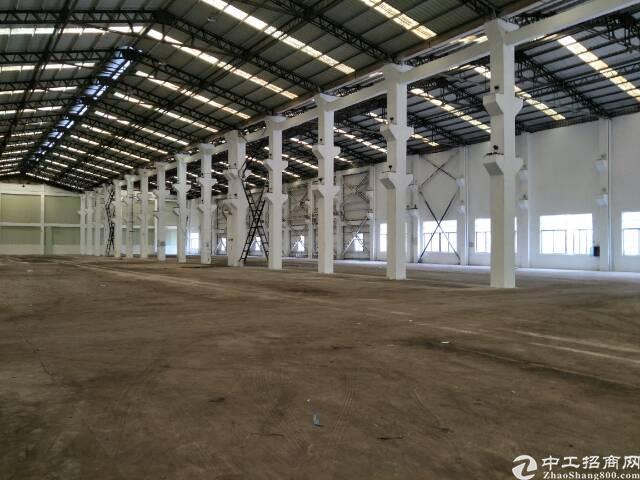 樟木头带牛角钢构厂房6000平方招租