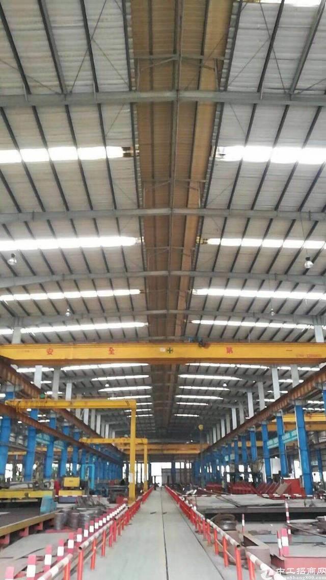 带十吨行车滴水十二米钢构厂房5400平方出租