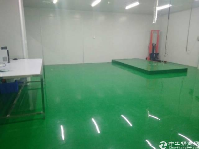 布吉秀峰工业区装修好800平方厂房办公室,价格实惠,实用率高