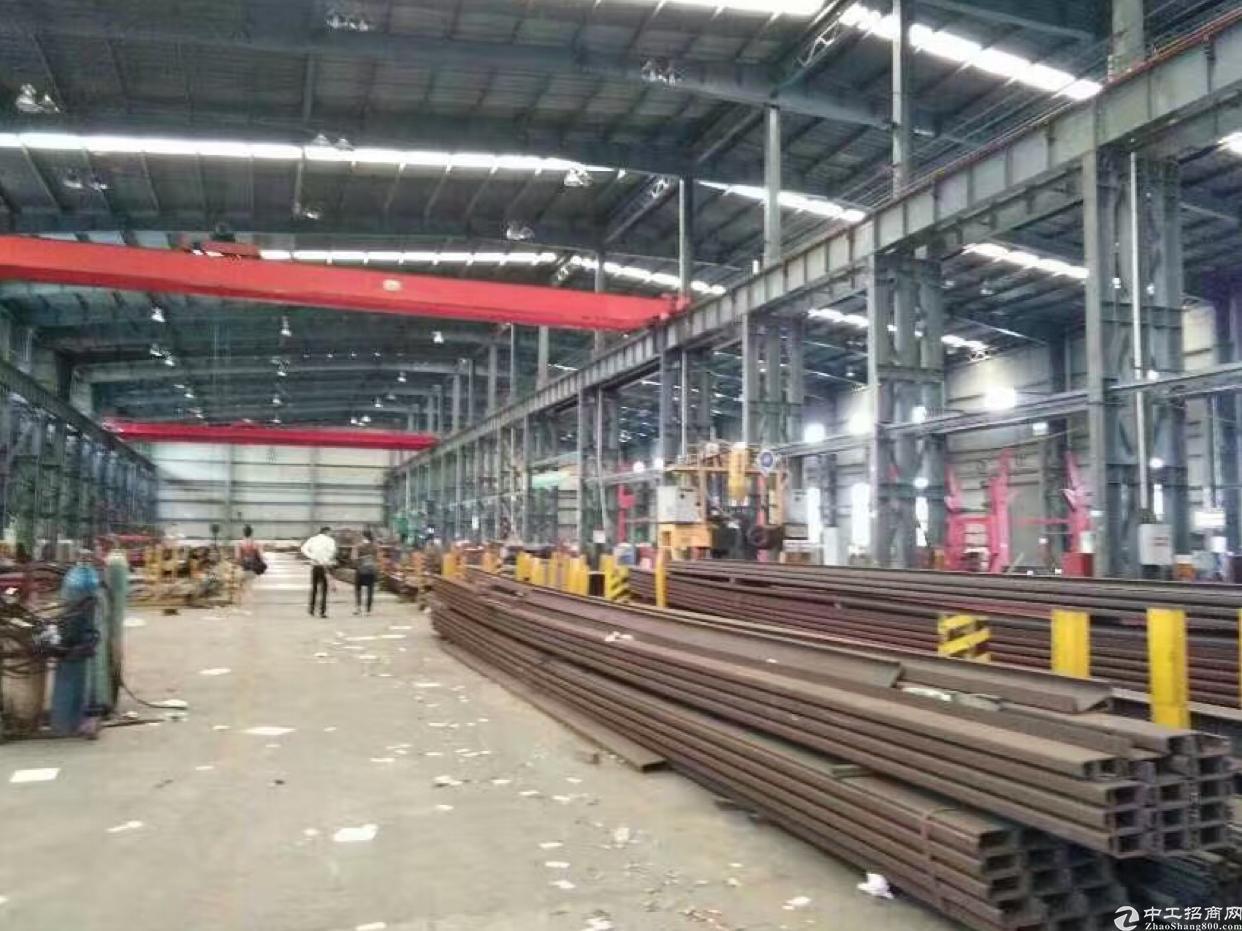 新出独院钢结构单一层厂房23000方