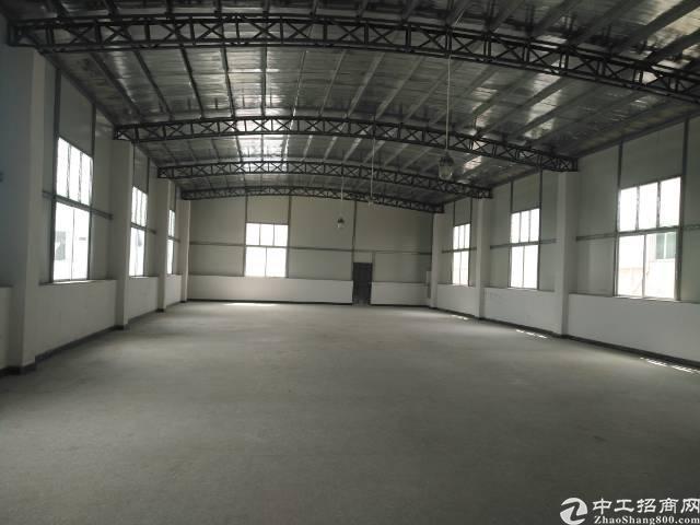 石碣单一层厂房600平米招租