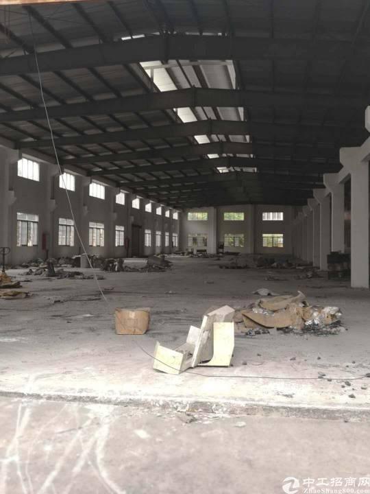 福永独栋标准厂房6800出租大小可分带装修