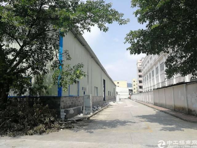 东莞清溪原房东单一层8米钢构3000平厂房出租