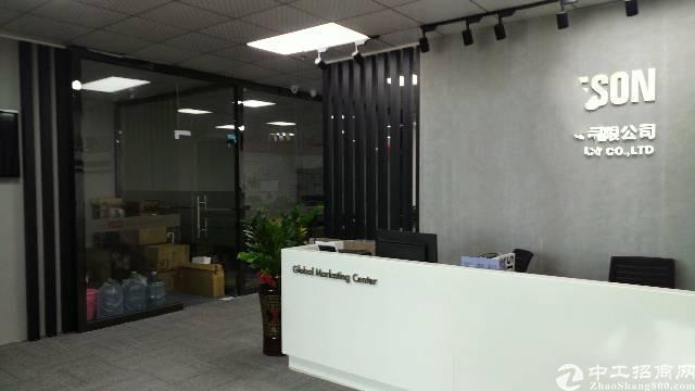 沙井马鞍山塘尾地铁站后面ykk楼上3300平方带装修厂招租