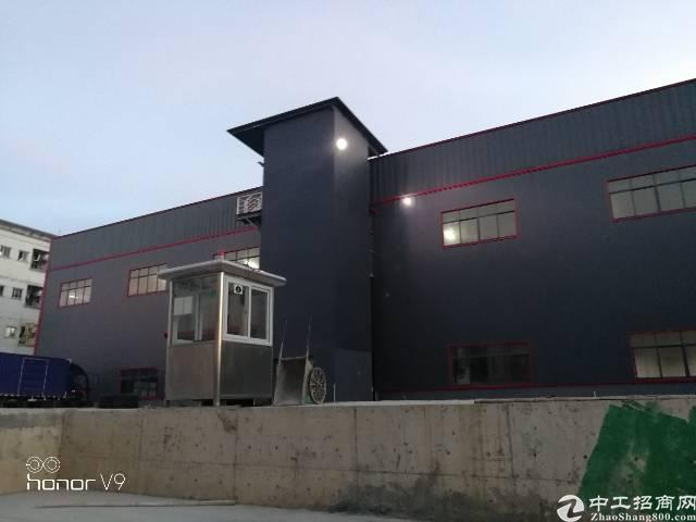 大朗新出原房东10米高钢构厂房招租