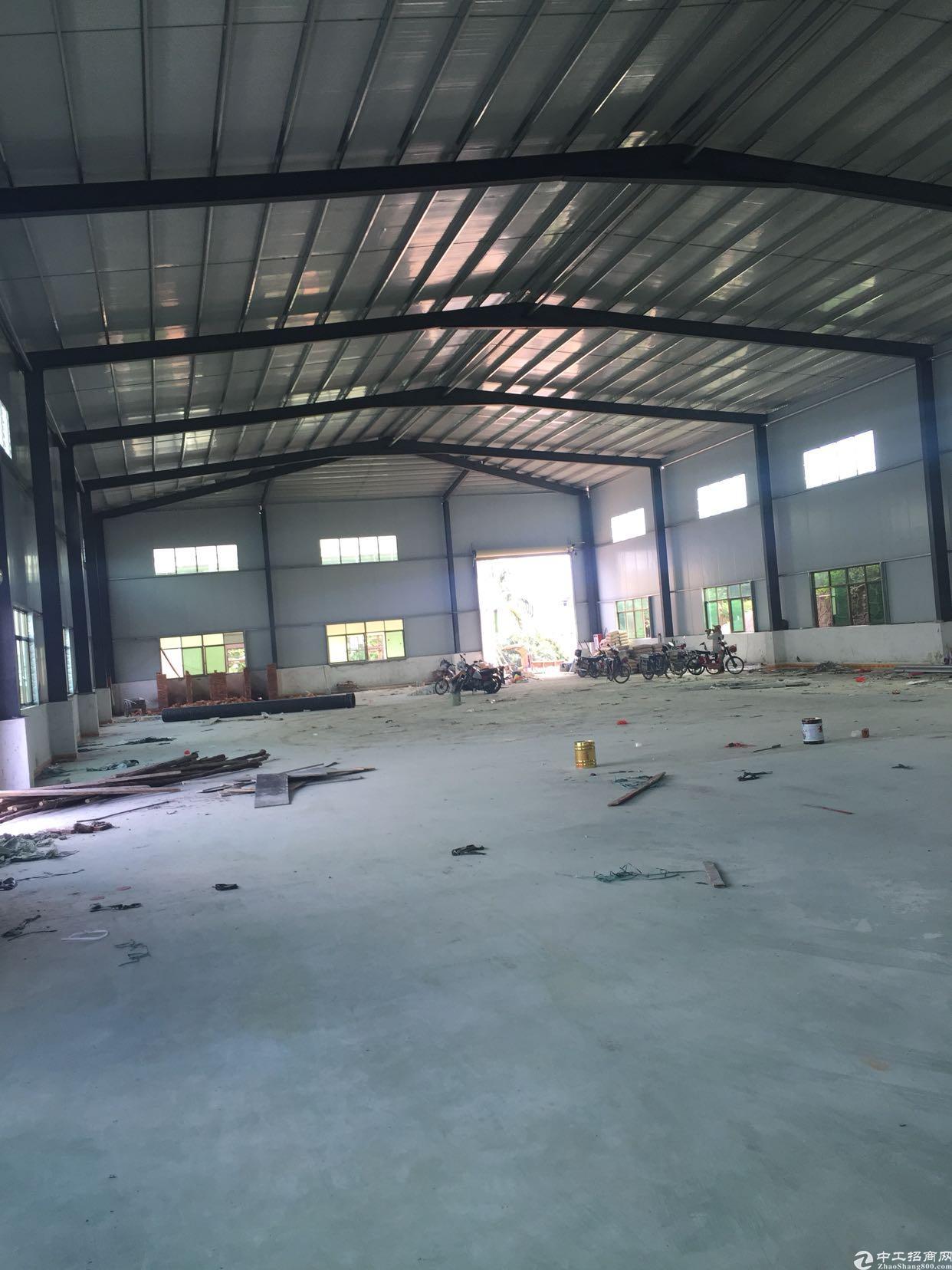 新建两千独门独院钢构
