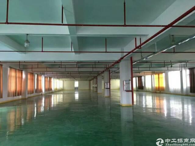 龙岗高速出口1-4层6600平米独院厂房招租,现成办公室