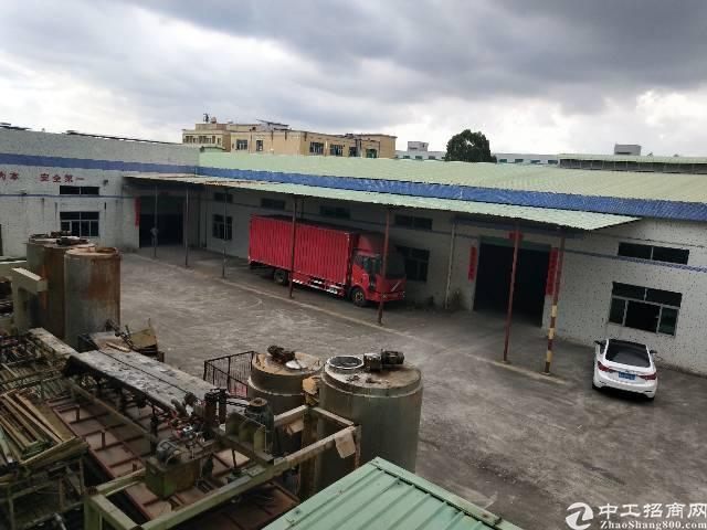 东莞市大朗镇沙步村单一层独院3500平方出租