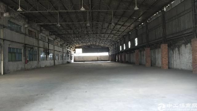 大朗全新空出标准钢构厂房铁皮房