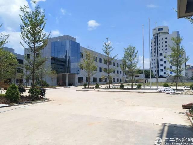 沙井地铁口红本独院厂房36500平方大小分租