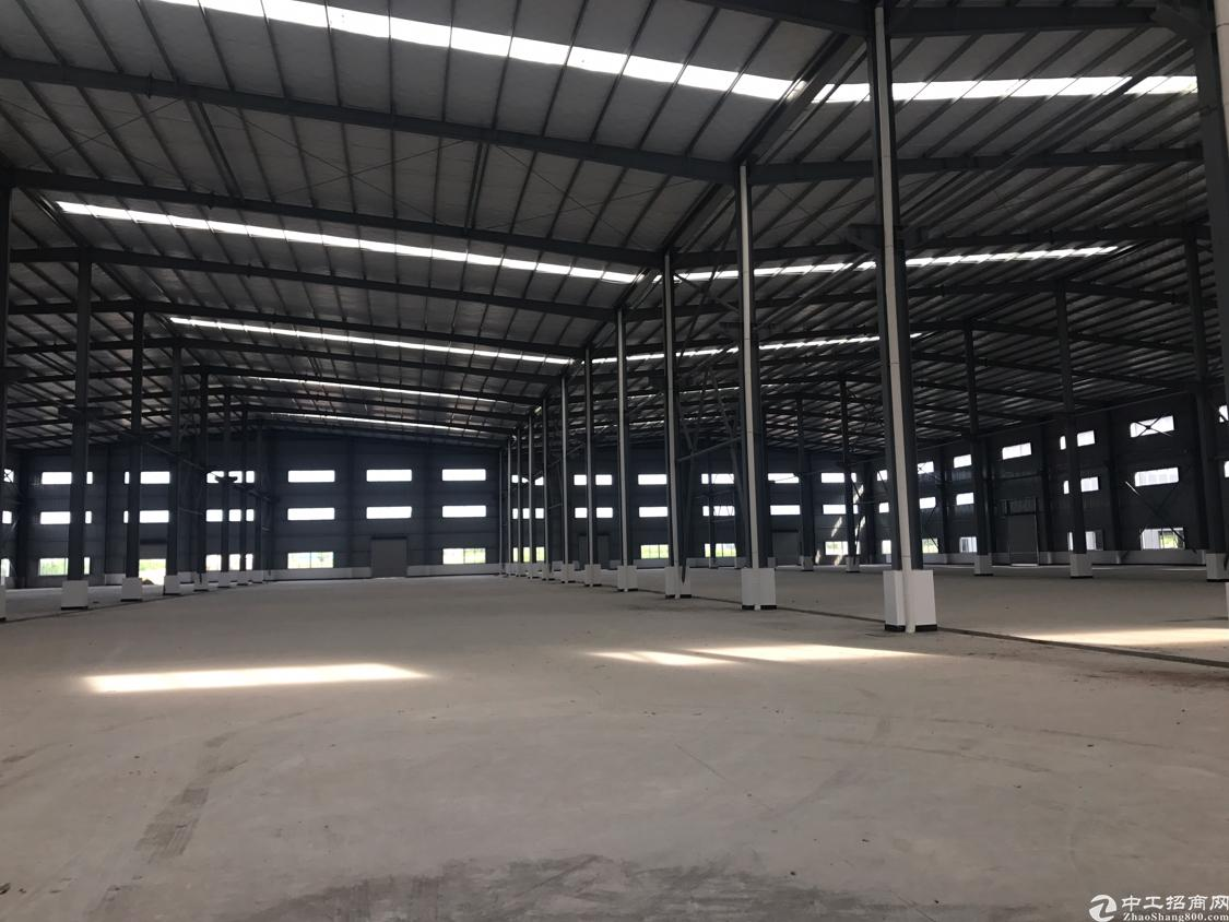 重工业全新钢结构厂房 厂房超靓 交通便利 门口带天然气管道