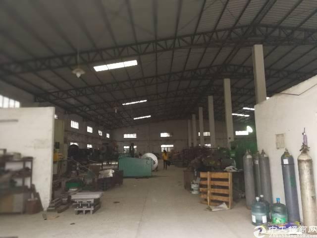 大岭山3600平米钢构独院厂房出租