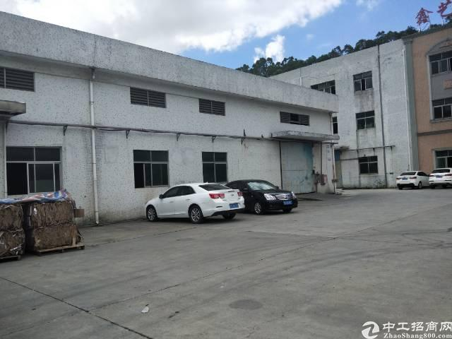 清溪新空出单一层砖墙到顶钢构厂房1400平方,带办公室装修!