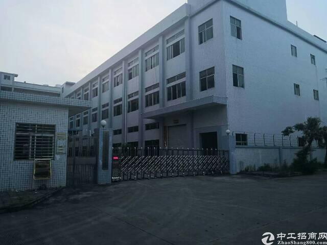 平湖华南城机菏高速出口独门独院3000平方米厂房招租