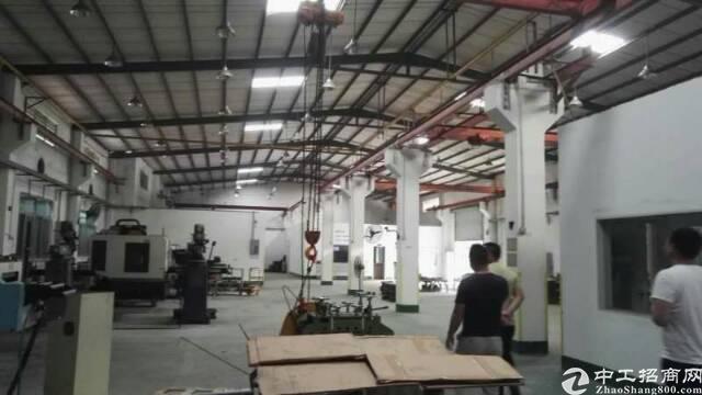 华南城钢构厂房滴水11米带现成航车免费使用